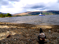 Gnome at the banks of Lock Lomond