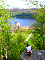 Gnome at Urquhart Castle